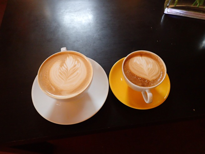 His & hers coffee